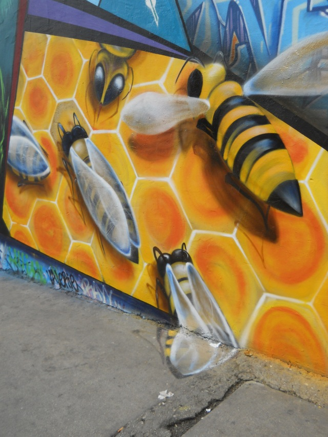bee off the wall