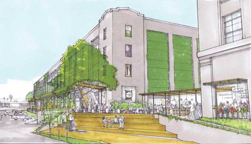 Alameda Square plans via Downtown News