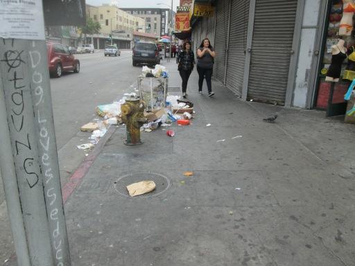 Los Angeles Street in DTLA