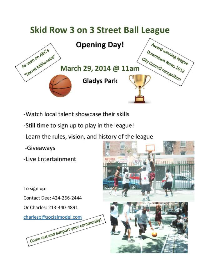 3 on 3 Flyer Opening Day-1