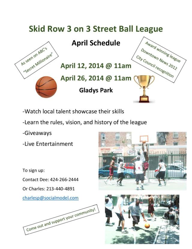 3 on 3 Flyer (April)