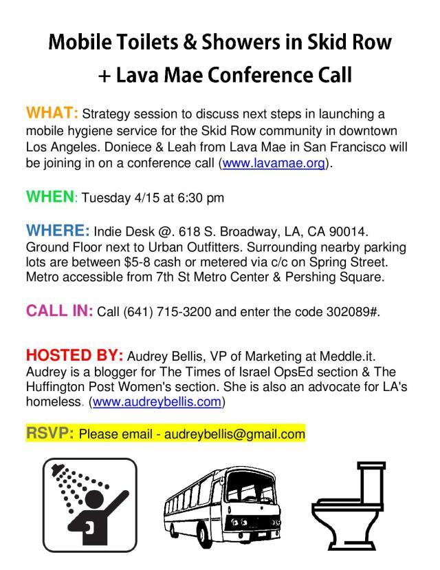 Lava Mae for LA
