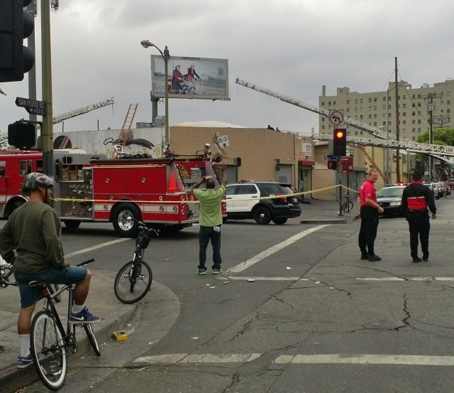 5th & San Pedro St. last Sat. morning @ 11am