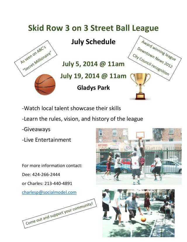 3 on 3 Flyer (July)